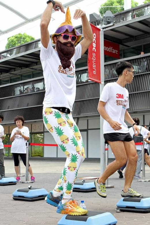 Running to crazy lengths for good causes