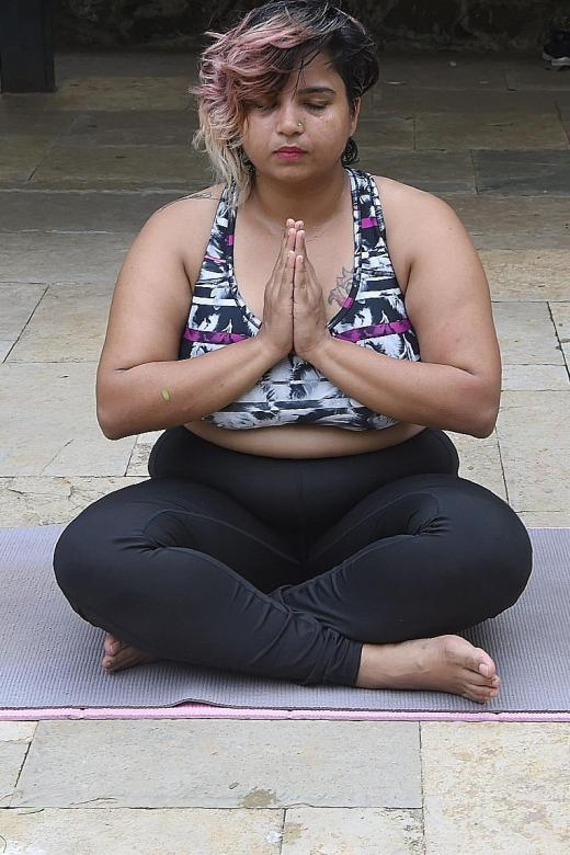 Defying body stereotypes through yoga