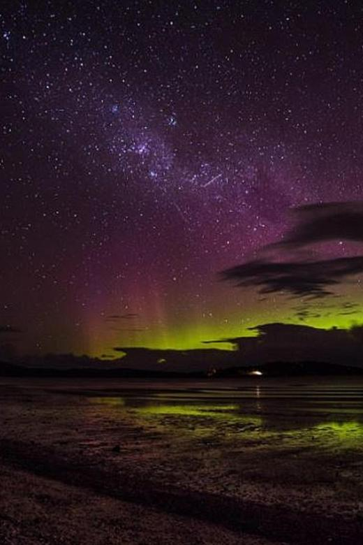 Southern Lights spots in Australia and New Zealand