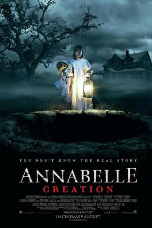 Image result for annabelle creation movie poster