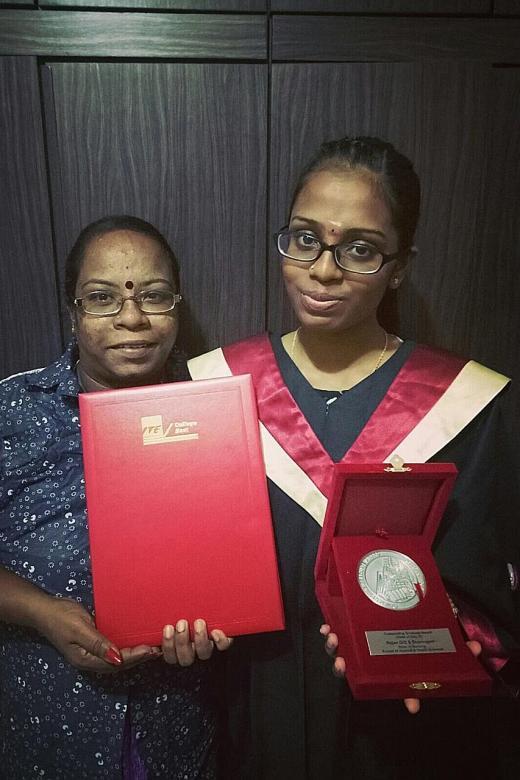 Nursing student wants to help lighten family's burden