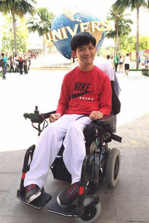 Man with cerebral palsy writes book on how he turned his life around