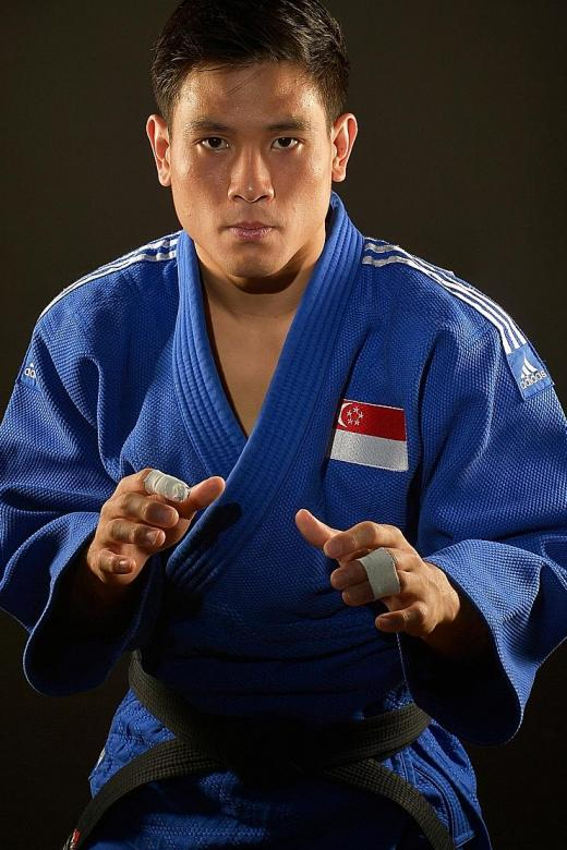Judoka Chow on a golden mission at the SEA Games