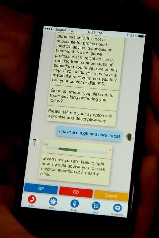 NUS students develop apps to help patients