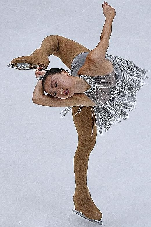 A first for Singapore in figure skating