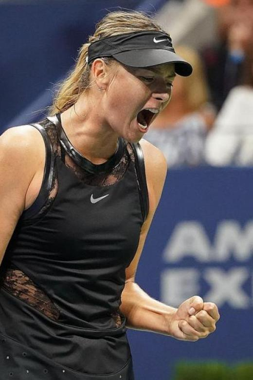 Sharapova at the US Open: 'This gritty girl is not going anywhere'