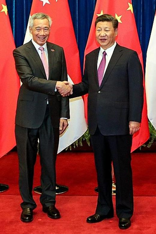 PM Lee and Xi discuss new areas of cooperation