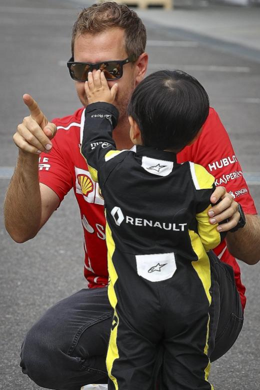 Vettel wants the 'fat lady' to shut up