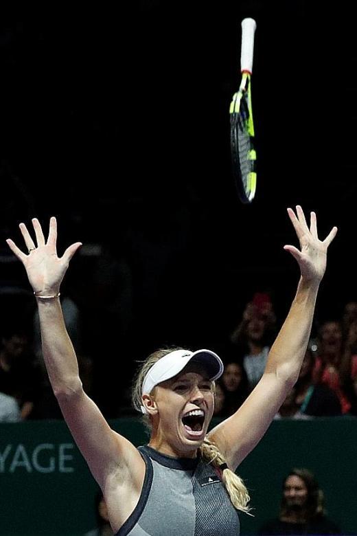 Wozniacki ends Venus curse