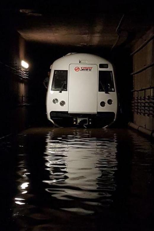 SMRT suspends team linked to tunnel flood