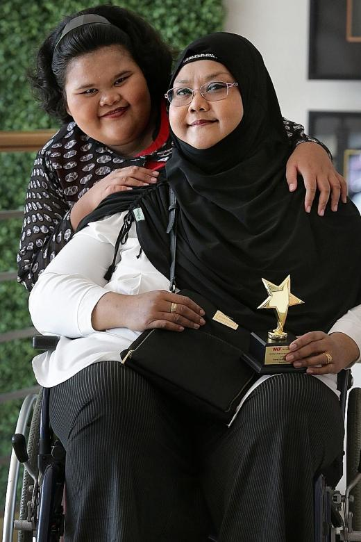 Only 10 but already recognised as an inspiring NKF caregiver