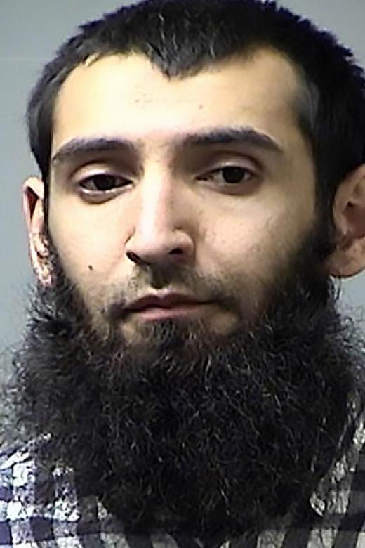New York attack suspect had history of traffic violations