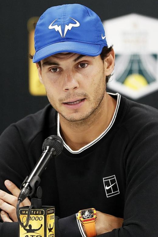 Nadal pulls out of Paris Masters