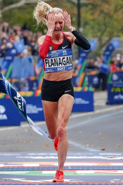 Upset at NYC Marathon