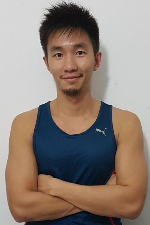 Actor Warrick Wee playing his part in the war on diabetes