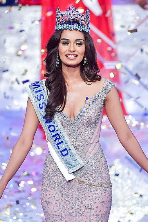 Miss India crowned Miss World, again