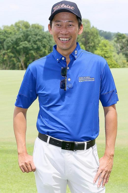 Singapore's WAGC golfer gets a birthday present