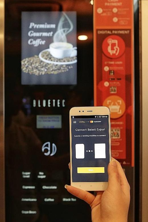 SPH Buzz store launches first cashless vending machines