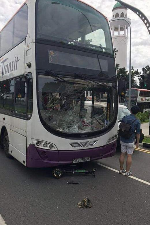 E-scooter rider dies in hospital after accident with bus
