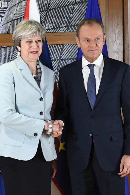 Britain and EU agree deal that now moves on to trade talks