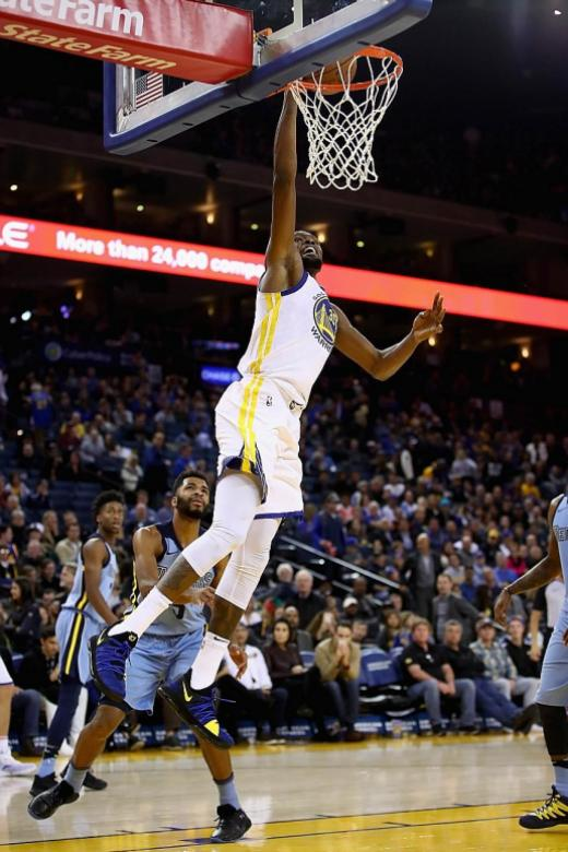 Durant sparkles in Golden State Warriors' win