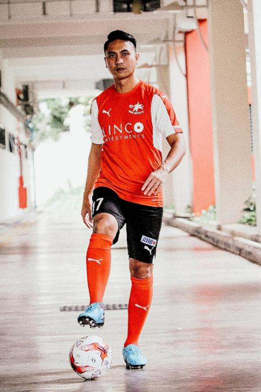 Shahril returns Home with a mission
