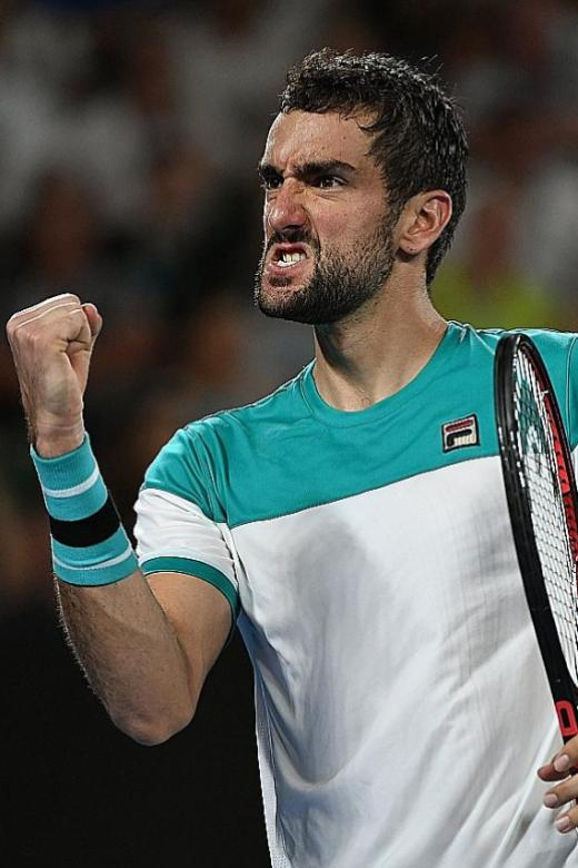 Cilic irked by decision to close roof