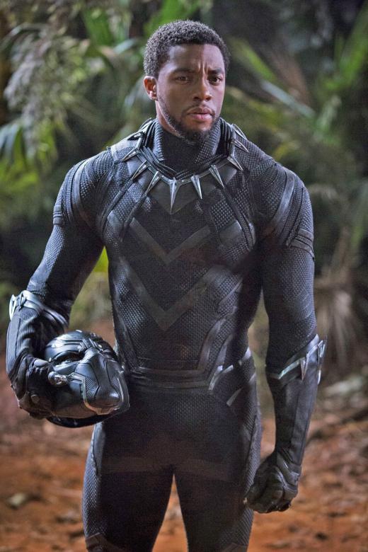 Strong women key to Black Panther star Chadwick Boseman's success