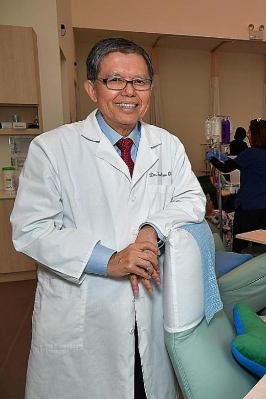 Pioneering oncology in Singapore