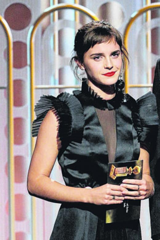British female stars say Time's Up ahead of Baftas