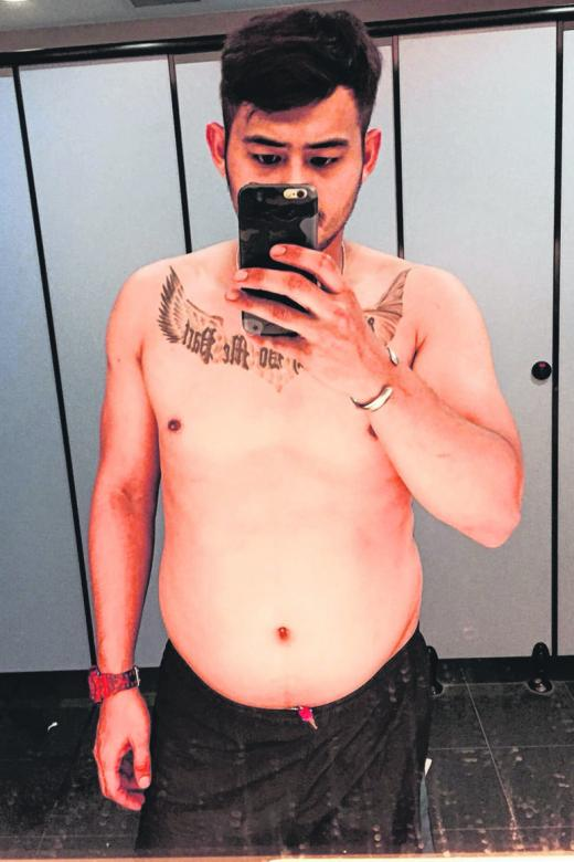 Manhunt Singapore 2018 finalist went from fat to fit