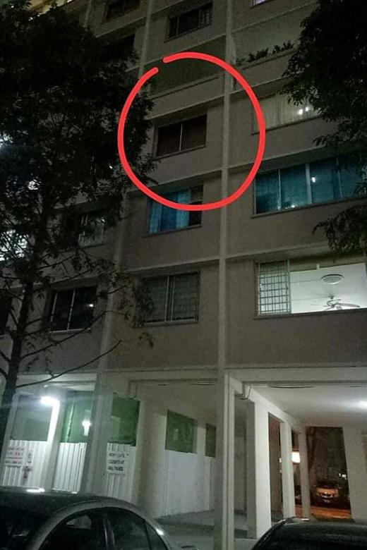 4-year-old girl falls from fourth storey flat but survives
