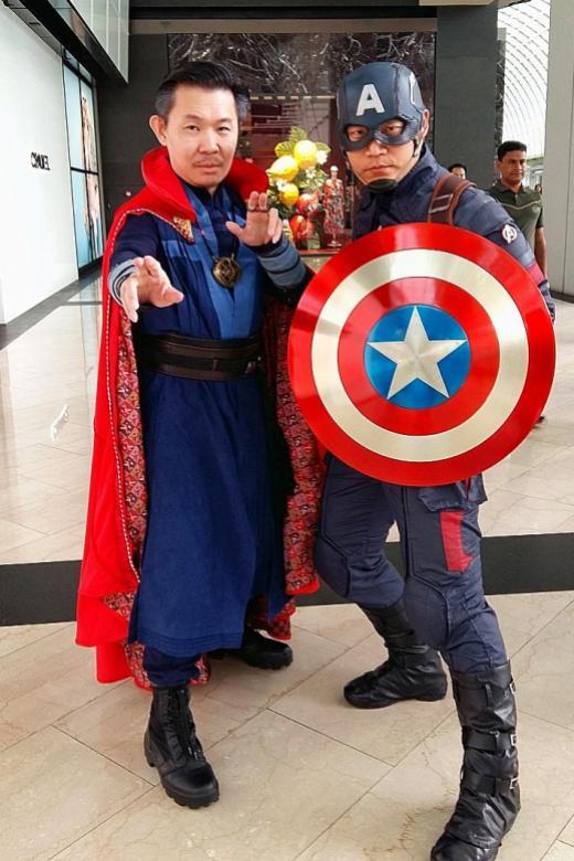 Fans start assembling for Avengers event at 2.50am