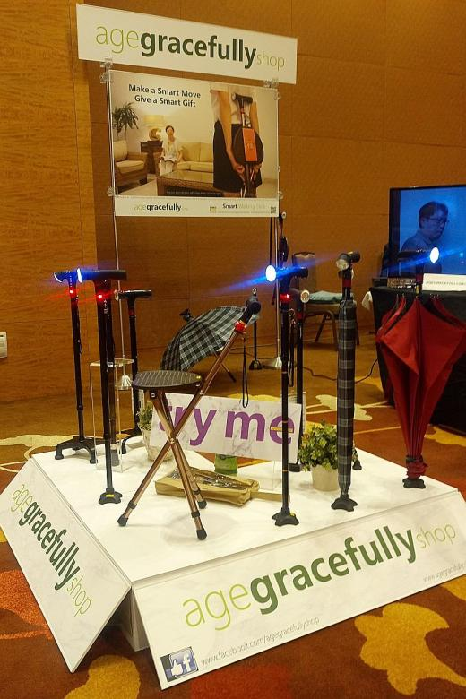 Innovative aids for the elderly on show at Marina Bay Sands