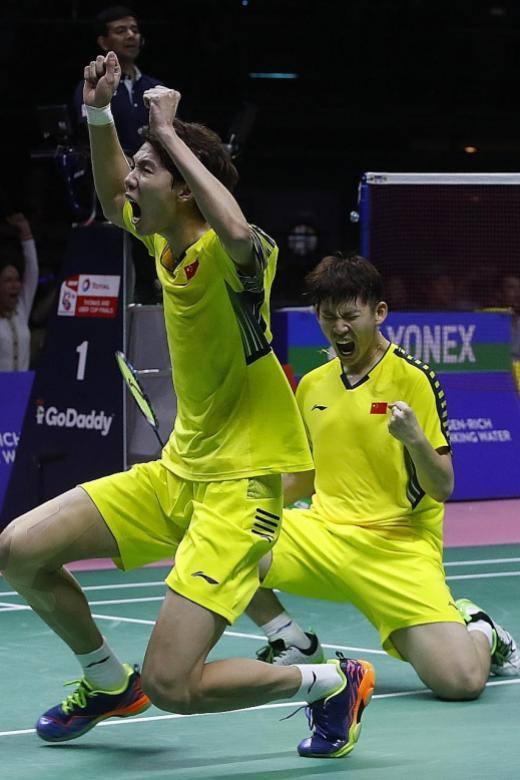 China regain Thomas Cup