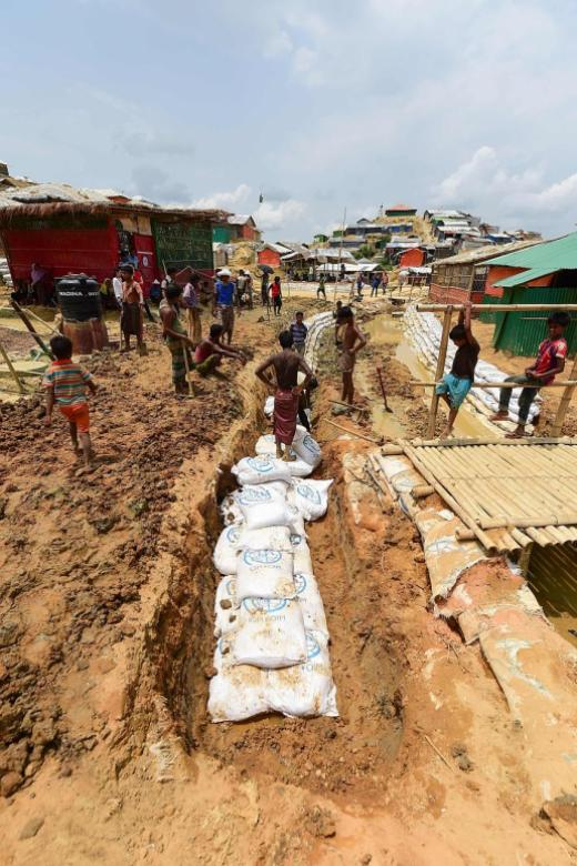 For Rohingya, approaching monsoon poses most serious threat