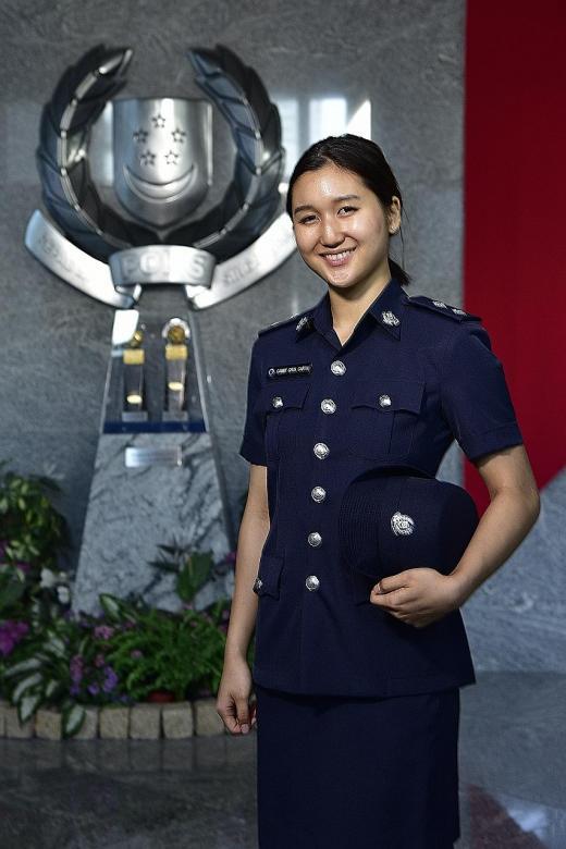 First female to be awarded Singapore Merit Scholarship