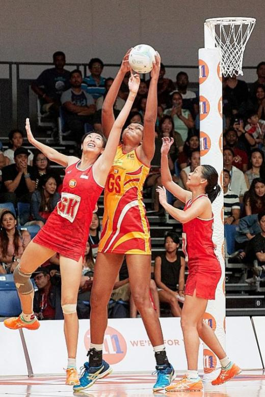 Silver lining for Singapore's netballers