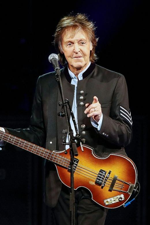 Paul McCartney scores US No. 1 after nearly four decades