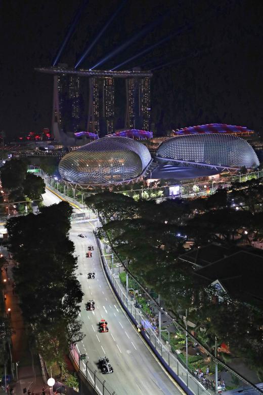 Singapore Grand Prix Setting The Standard