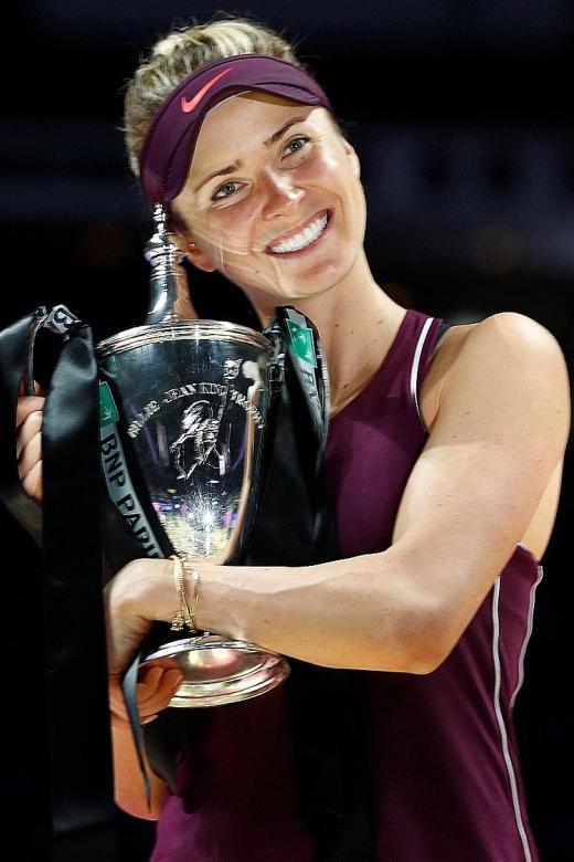 Svitolina nabs career highlight
