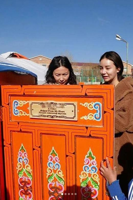Local socialite donates homes to the homeless in Mongolia