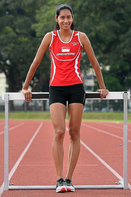 Dipna hangs up her spikes