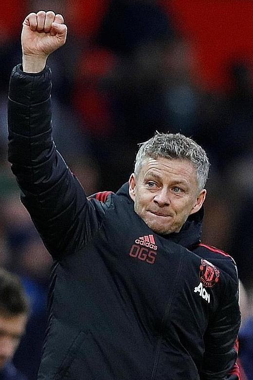 Guardiola: United playing well under Solskjaer