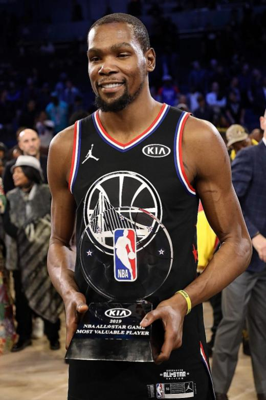ed21879a37d MVP Durant steals the show at All-Star Game
