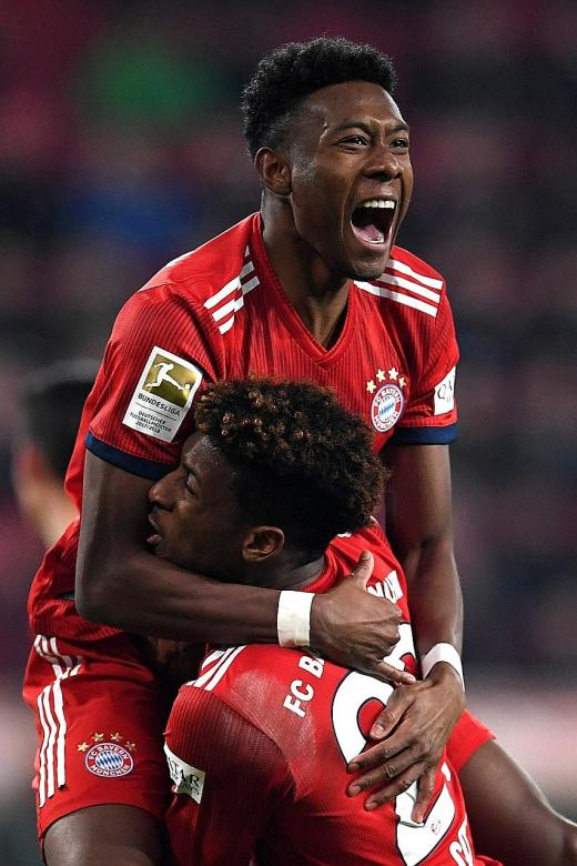 Coman and Alaba fit to feature against Liverpool
