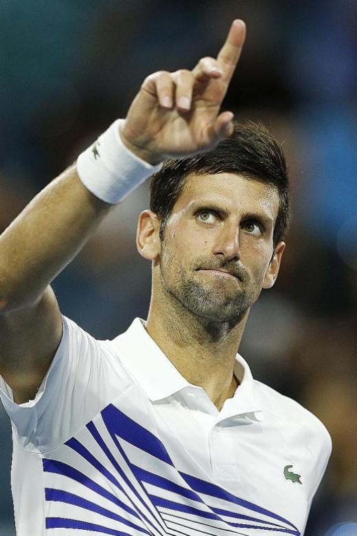 Djokovic on course for 7th Miami title