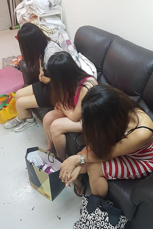 58 people arrested in vice, illegal gambling raids