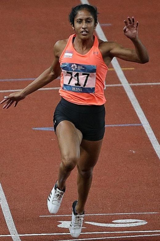 Shanti Pereira rewrites national 100m record