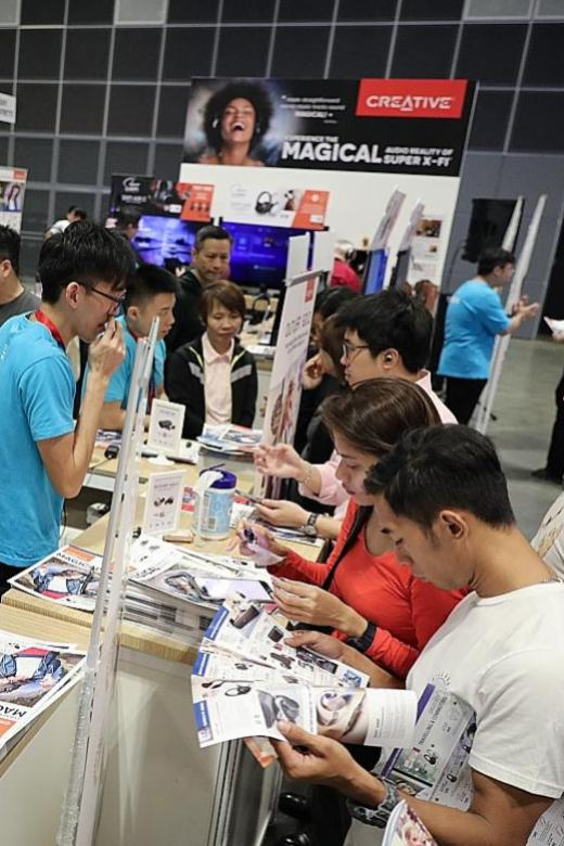 Corporate customers can also trade in old gadgets at CEE